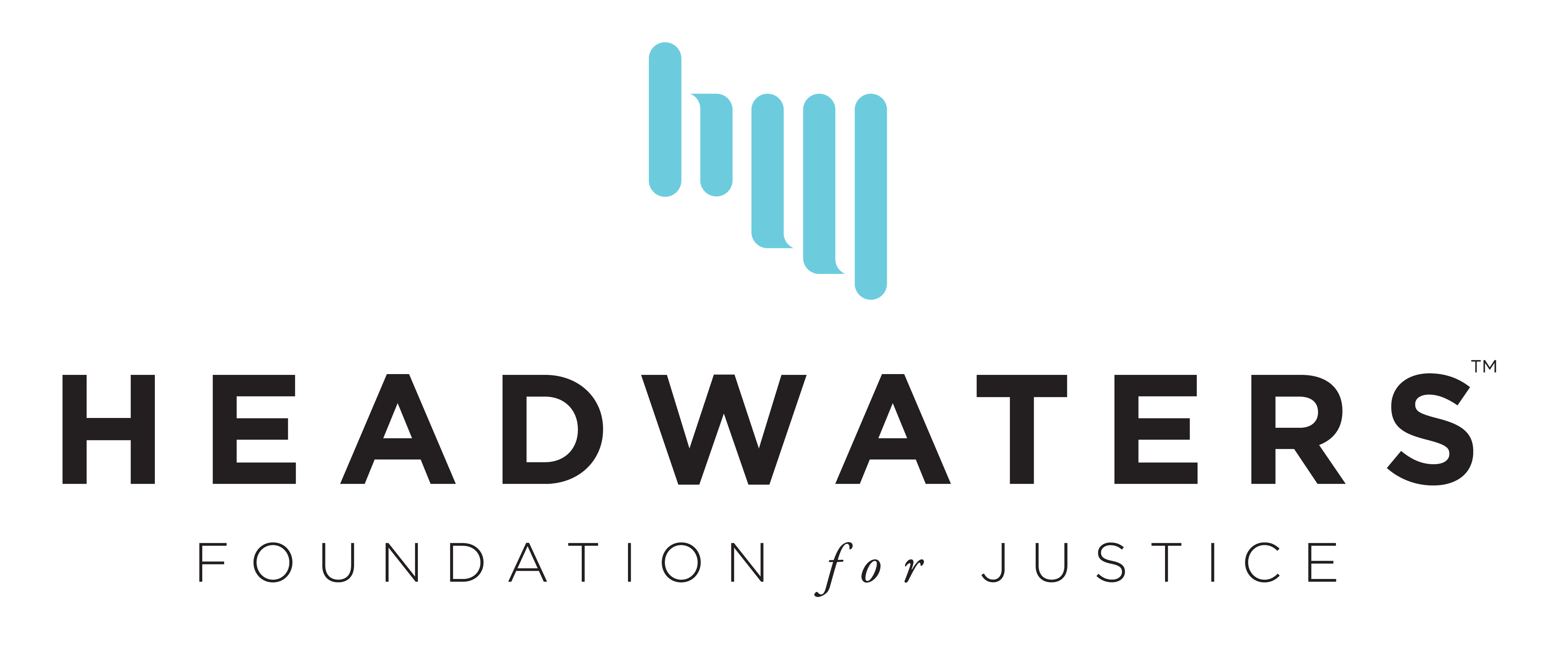 Image result for headwaters foundation for justice logo